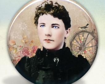 Laura Ingalls Wilder Pocket Mirror