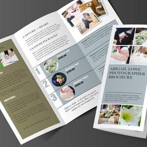 Trifold broschüre | Etsy
