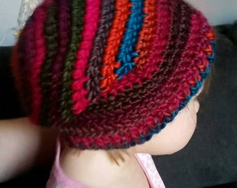 Toddler slouchy  hat