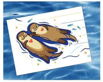 Significant Otter stationery set