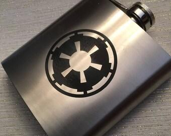Galactic Empire Flask