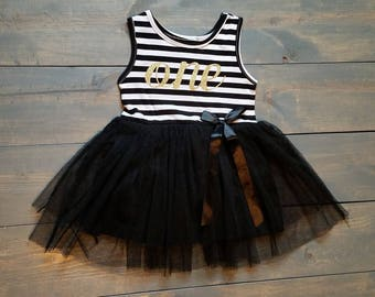 First Birthday Outfit Toddle Baby Girl Tutu Dress #B-04