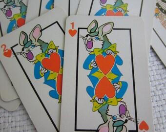 Vintage Hearts Card Game