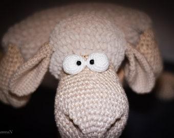 Hand made soft Sheep-pillow