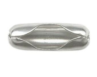 Silver Color Ball Chain Clasp
