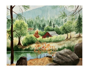 Long Lake Surprise - Limited Edition Print