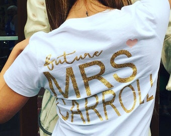 Bride Shirt - Future Mrs. shirt - Wife shirt - Fiance shirt - Bridal shirt
