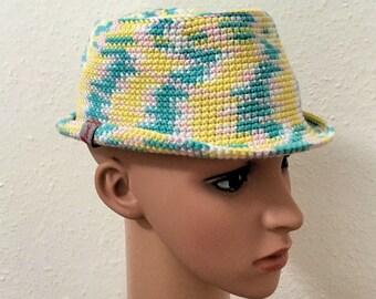 Trilby hat size S 53cm