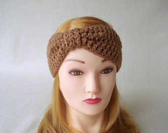 Winter headband Crochet turban headband for women Crochet ear warmer headband Womens crochet headbands Crochet earwarmer Women head bands