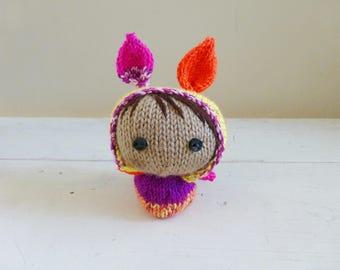 Mini bunny baby Melanie, Cute stuffed animal, bunny stuffed animal, ready to ship