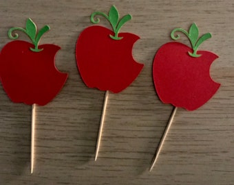 Snow White Cupcake Toppers