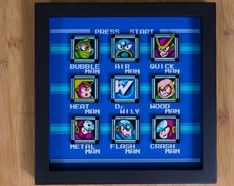 Mega Man 2 (NES) Shadowbox