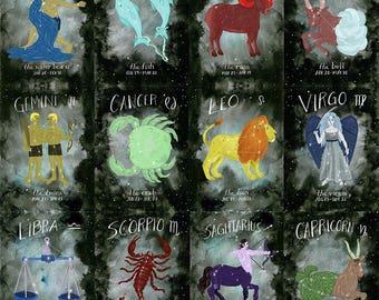 Choose your Zodiac print - 11x14
