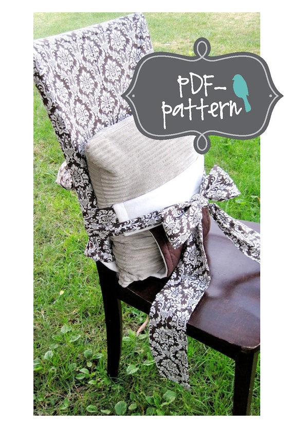 tie on child chair pdf instant download sewing pattern