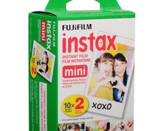 Fujifilm Instax mini film White Frame 20pcs