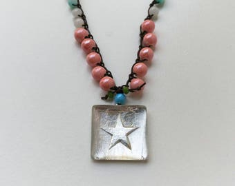 Star Ceramic Necklace