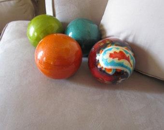 "Decorative Circle Balls 4"""