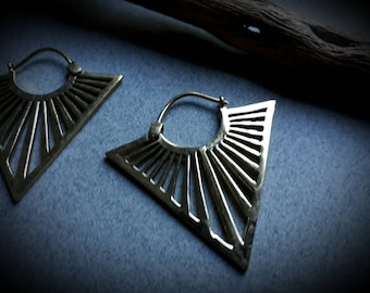 earrings *triangle small*