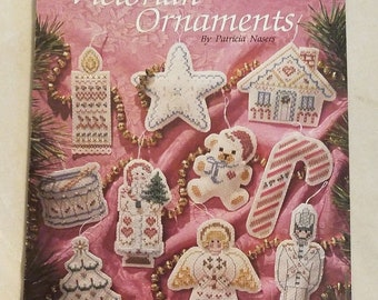 1990 Victorian Ornaments, By Patricia Nasers, Leisure Arts