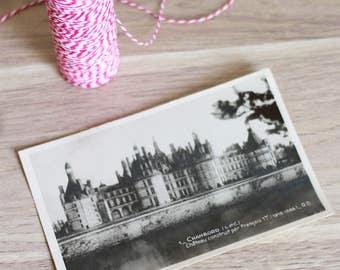 Postcard - Chateau de Chambord - France
