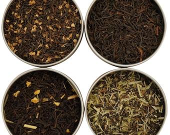 Heavenly Tea Leaves Flavored Black Tea Sampler, 4 Count