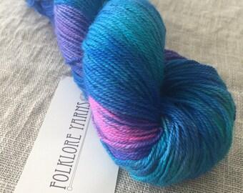 Wool Silk Sock- Mermaid