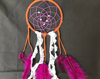 Purple Lace Dream Catcher