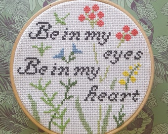 Cross stitch: Lumineers