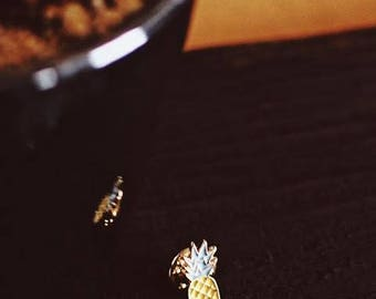Pineapple Enamel Pin