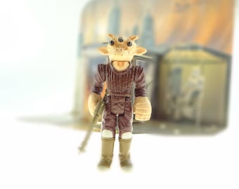 Ree-Yees Action Figure With Original Weapon 1983 Star Wars The Return Of The Jedi