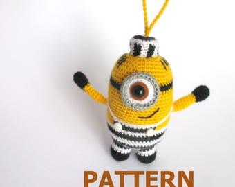 Free Amigurumi Minion : Crochet minion bag etsy