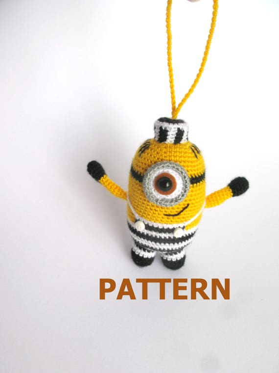 Minion Crochet Pattern Minion In Prison From Despicable Me 3