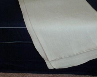 Alpaca Throw Blanket- Solid Cream