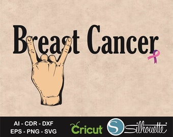 Beat Cancer svg, Beat Breast Cancer saying, Cancer Ribbon svg, Cancer Survivor Gift, Sayings svg, Cancer shirt, t-shirt design svg