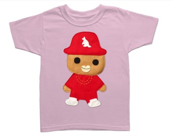 Rad Rapper - Kangaroo - Kids T-Shirt [LIGHT PINK]