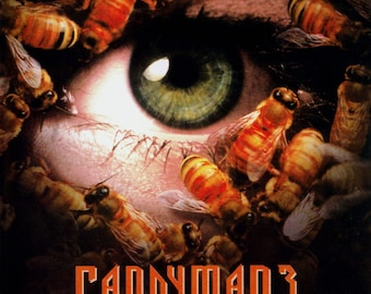 Candyman 3: Day of the Dead Cult Vintage Horror Film Movie Poster Print A3 A4