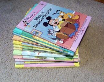 Mickey's Young Readers Library Walt Disney Books For Young Readers - You Choose Which One