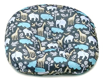 Removable Cover for Boppy Newborn Lounger. 100% Cotton