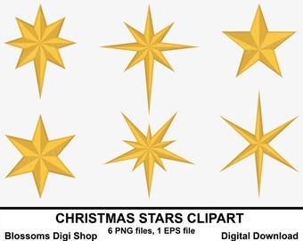 christmas star etsy