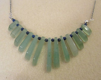 Green onyx pendant