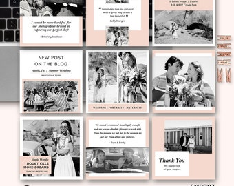 Pet Social Media Kit Template Social Media Post Pack Set - Social media post template