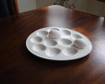 Egg Shaped Deviled Egg Serving Plate!