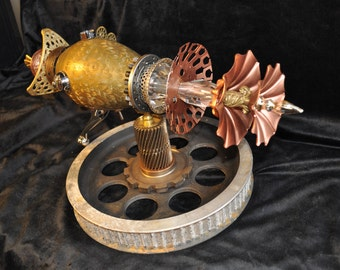 "Ray Gun "" INTERSTELLAR CONFIGURATOR RAYGUN "" Table Top Steampunk Sci-fi Victorian Industrial"