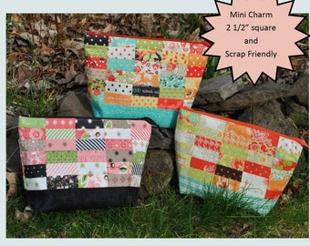 "QUILTING FUN (Sewing Pouch Pattern): ""Creatively Yours Zipper Pouch"" - Design by Sweet Jane's Quilting"