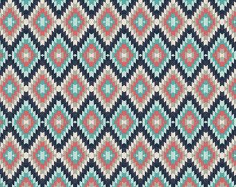 Aztec Crib Bedding - Fitted Crib Sheets / Mini Crib Sheet / Coral Teal Aztec Crib Sheet / Changing Pad Cover / Nursery Crib Sheets Etsy