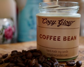 Coffee Bean Soy Candle 6.8 ounce Jar