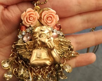 """Chic Baroque """"Fallen from heaven"""" necklace"""