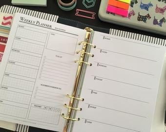 Student Planner 2017-2018 - Student Planner Printable - Study Planner - School Planner - College Planner - INSTANT DOWNLOAD