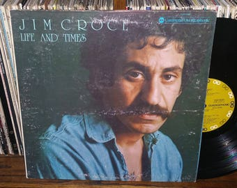 Jim Croce Life And Times Jim Vintage Vinyl Record