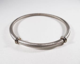 Silver Bangle | Simple Bangle | Everyday Jewelry | Sterling Silver | Bangle | Bracelet